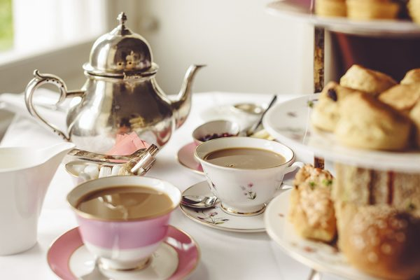 English tea time