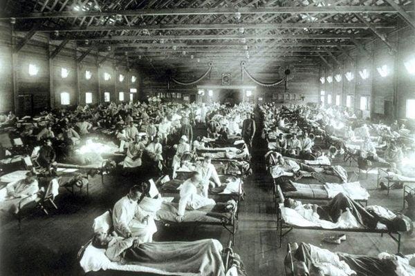 Flu hospital 1918