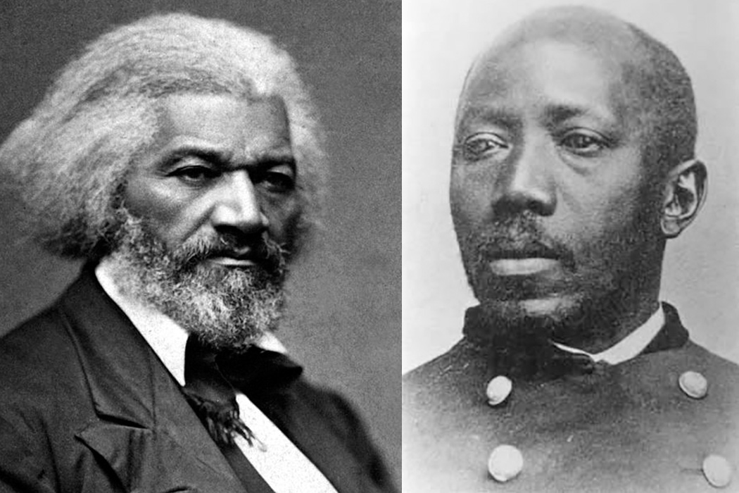 Frederick Douglass and Martin Delany