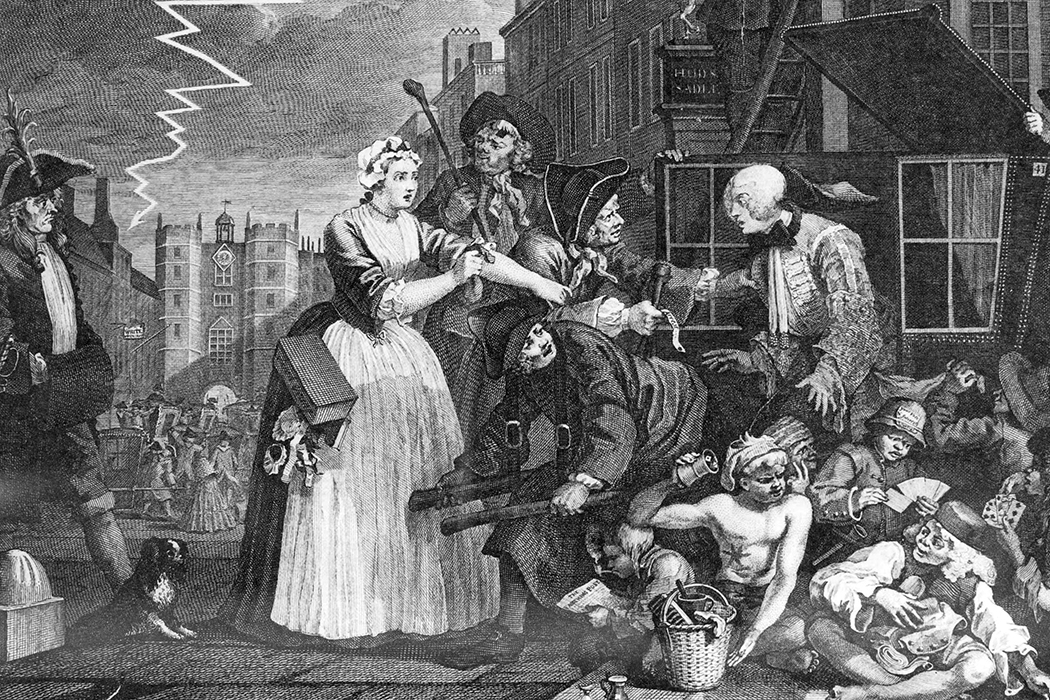 The First Moral Panic London 1744 Jstor Daily