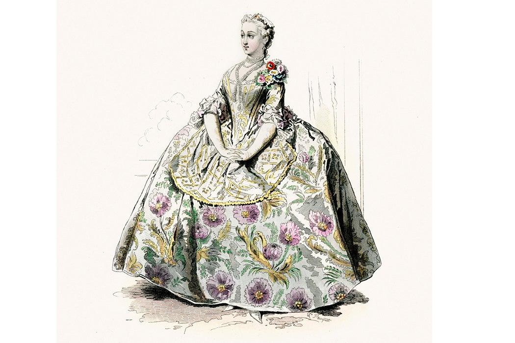 18th century hoop skirt