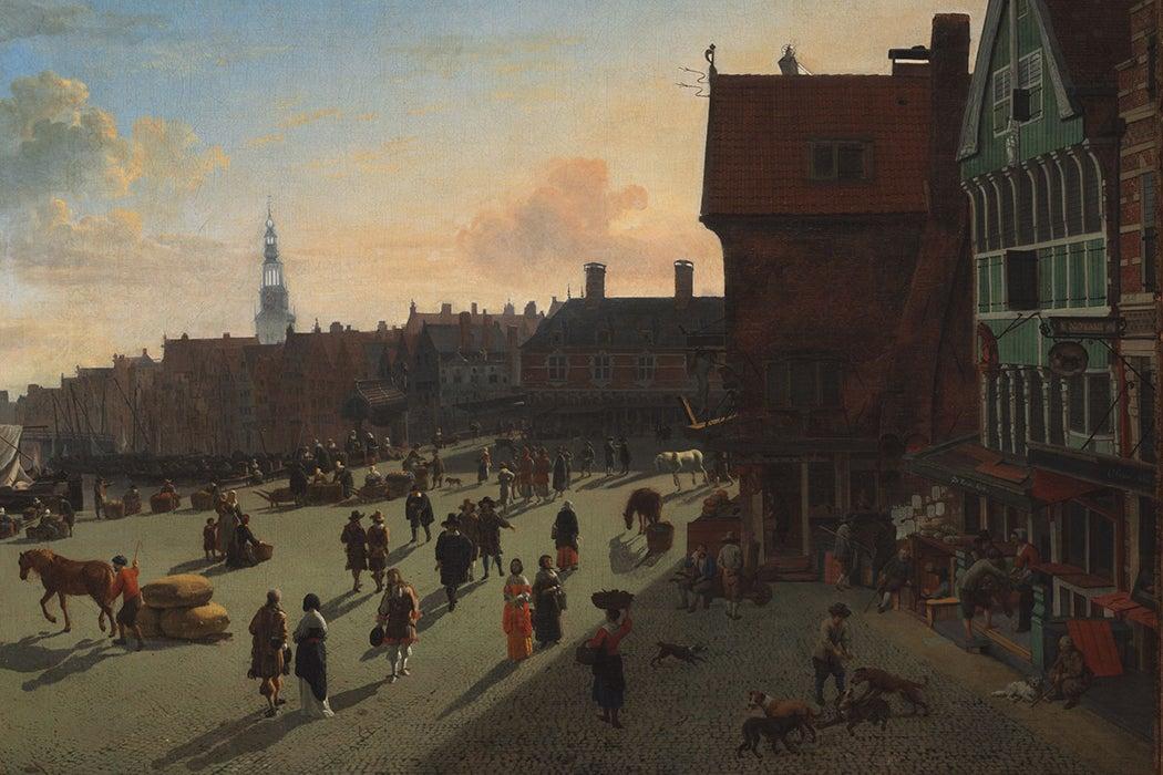 Jan van Der Heyden painting