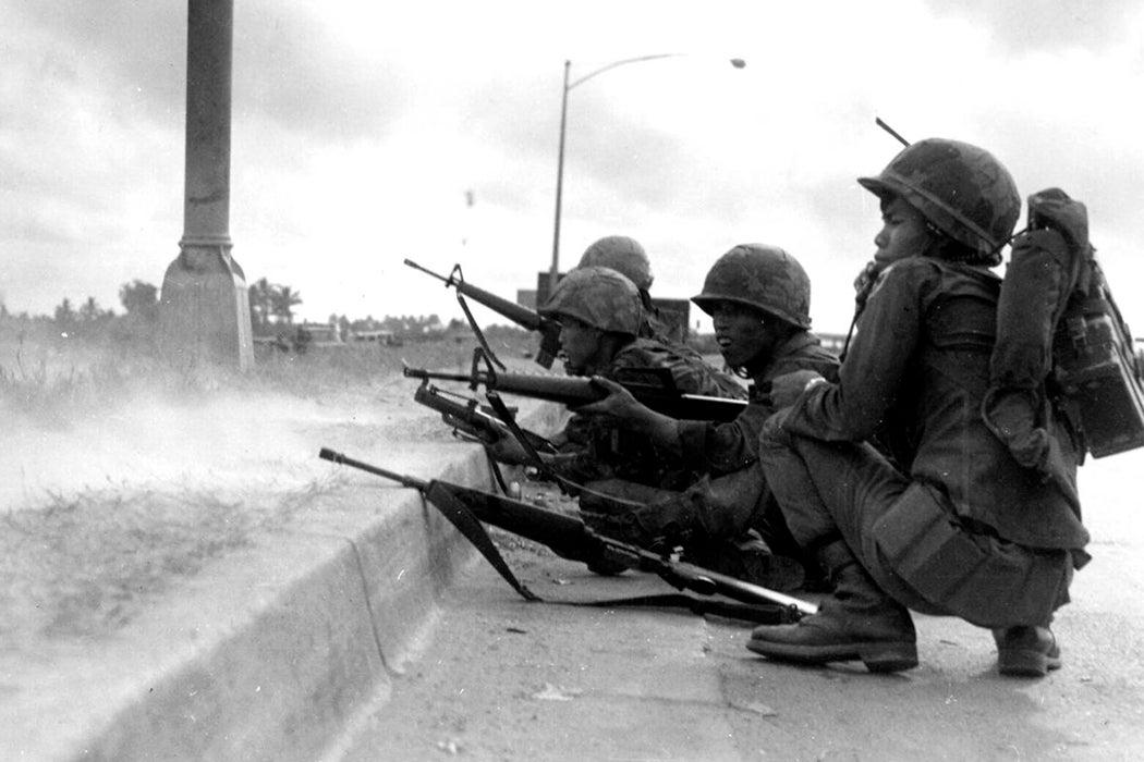 North Vietnamese soldiers