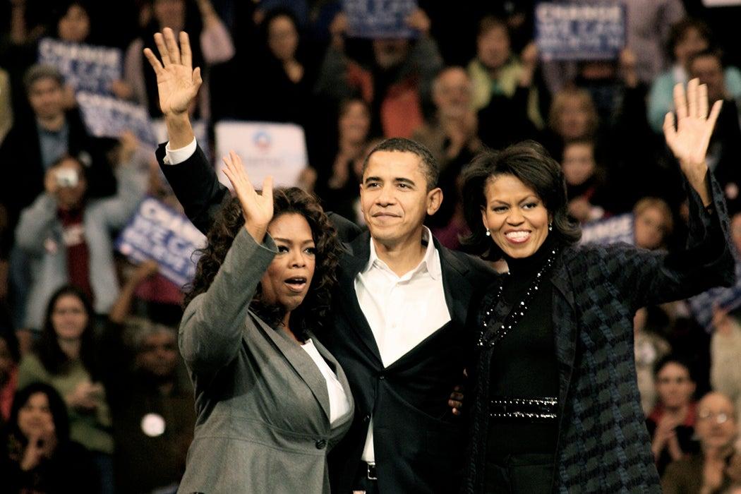 Oprah and Obamas