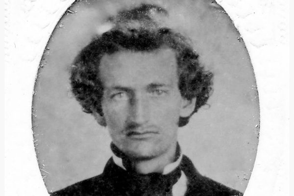 portrait of abolitionist James Hinds, 1860s