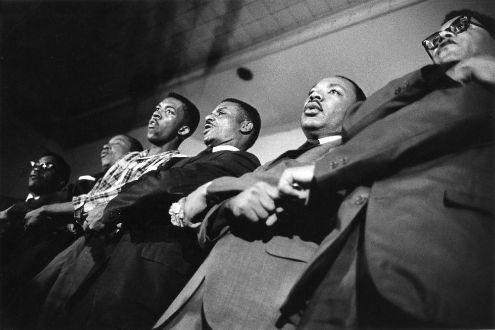 MLK and SCLC leaders