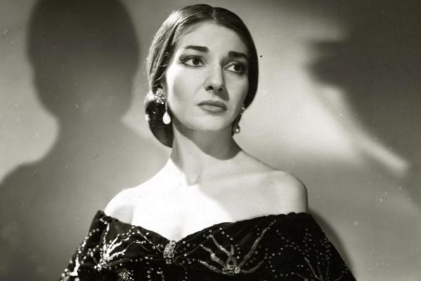 Actress Maria Callas as Violetta in La Traviata, 1958