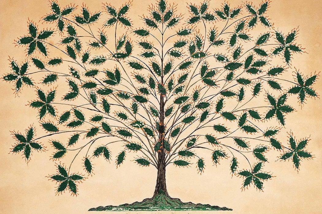 Shaker tree art