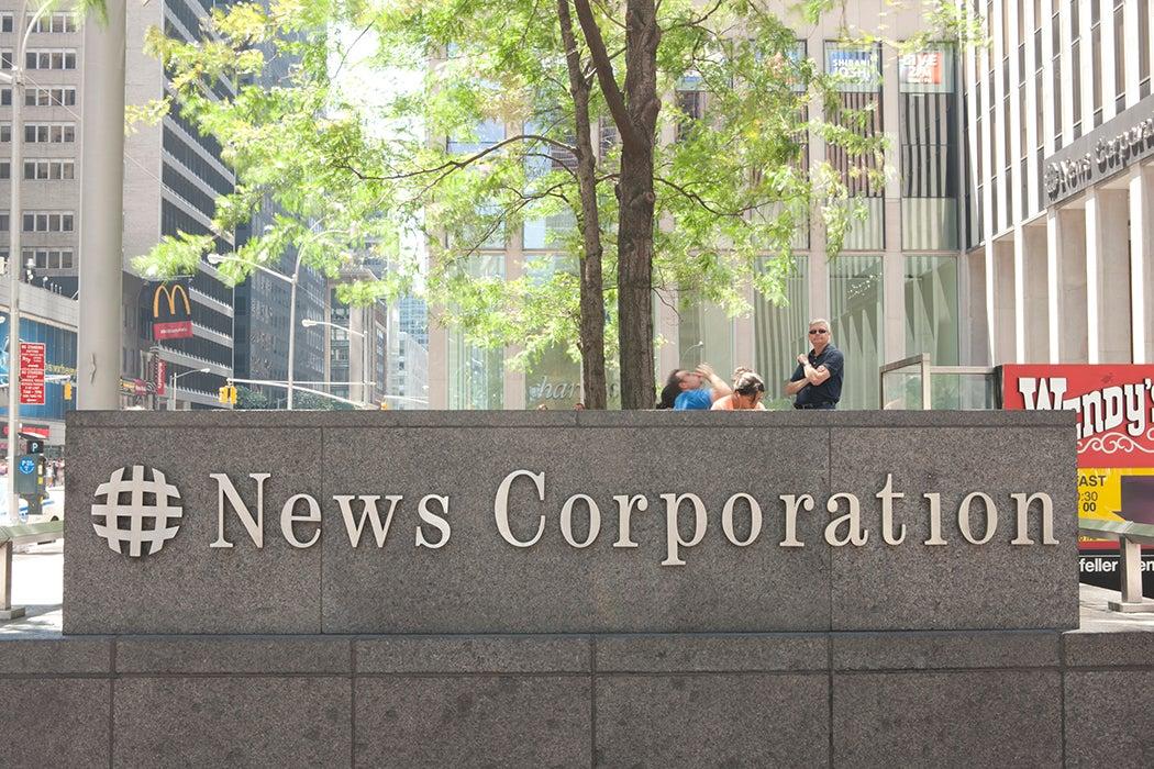 News Corporation Rupert Murdoch