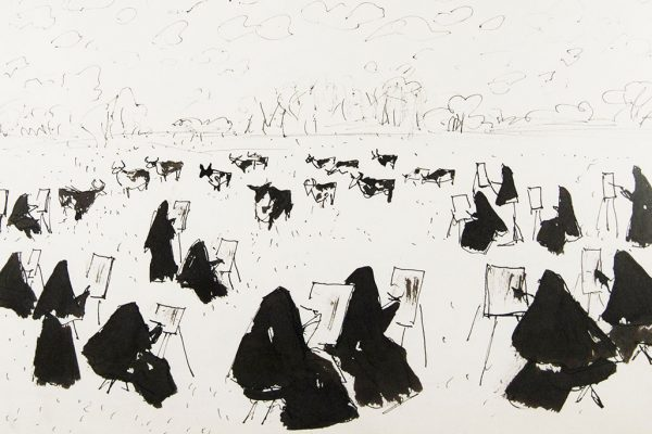 Nuns and cows