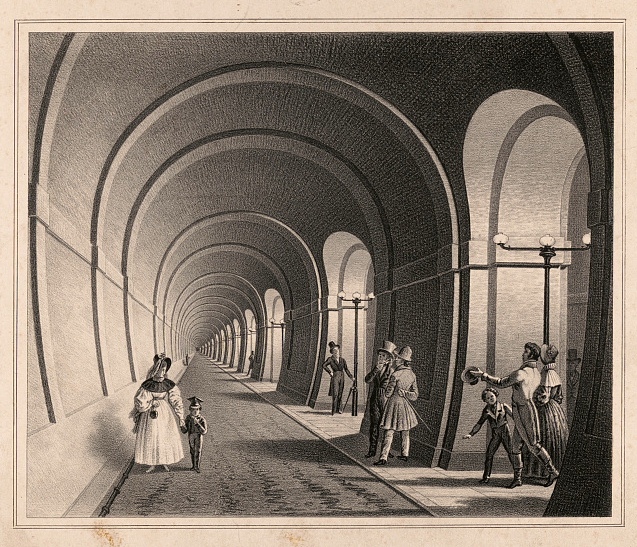 Thames Tunnel illustration
