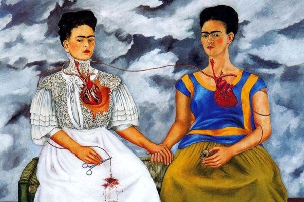 Frida Khalo painting
