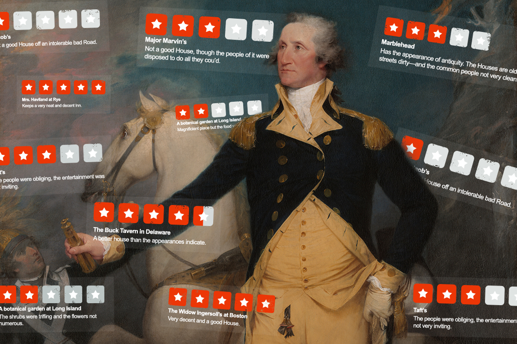 "George Washington's ""Yelp Reviews"""