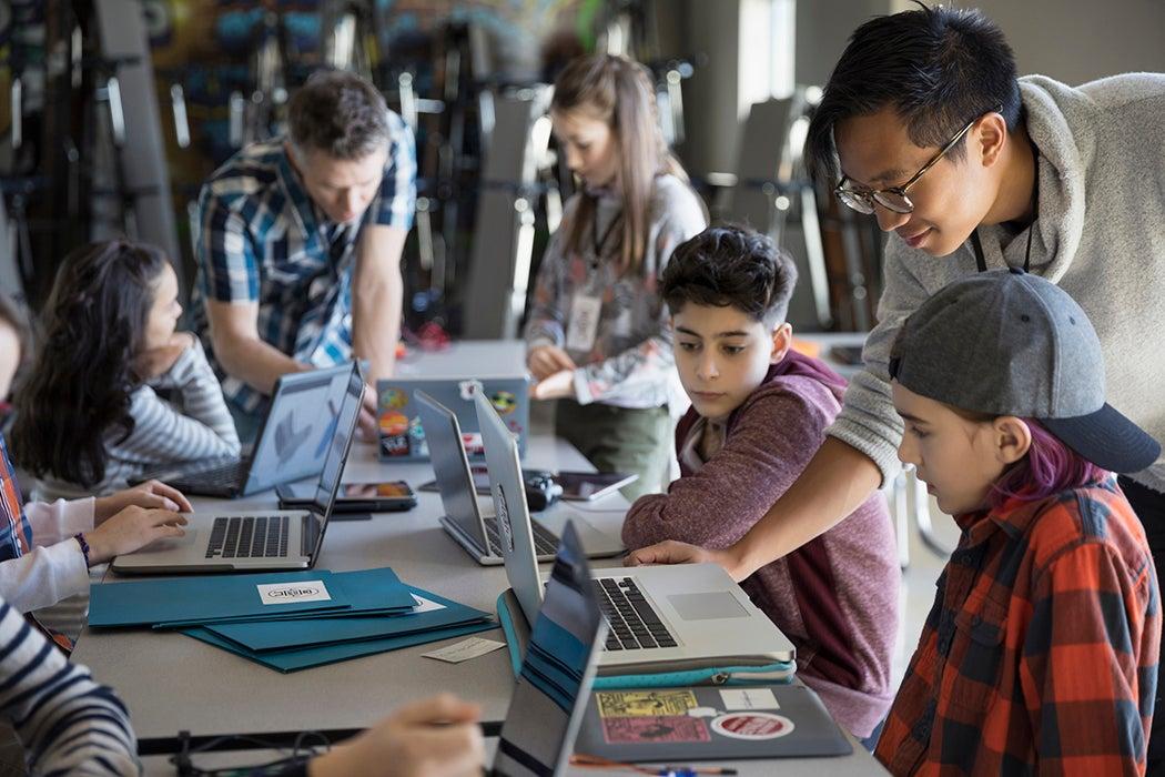 laptops in class