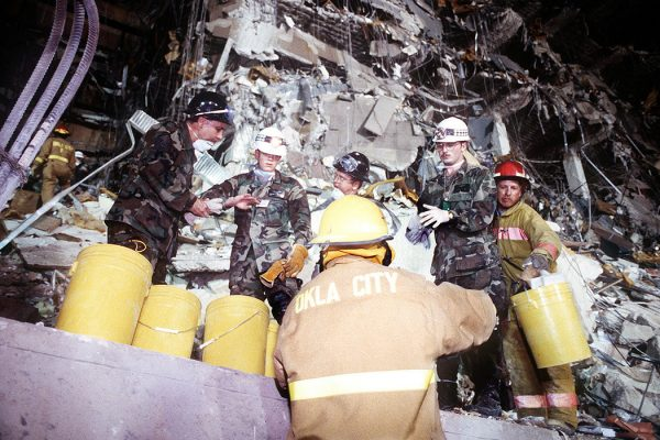 Oklahoma City bombing first responders