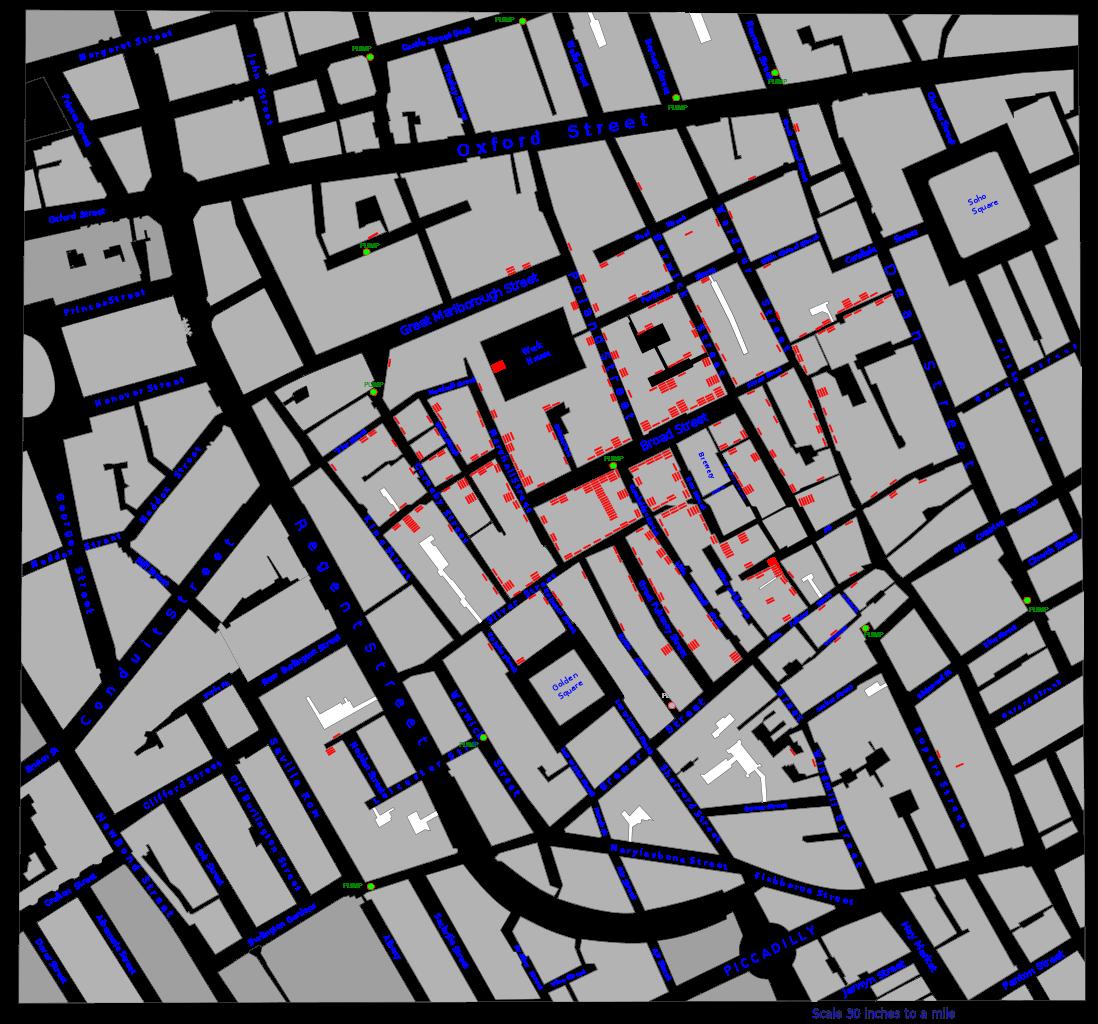 Dr. John Snow Cholera Map