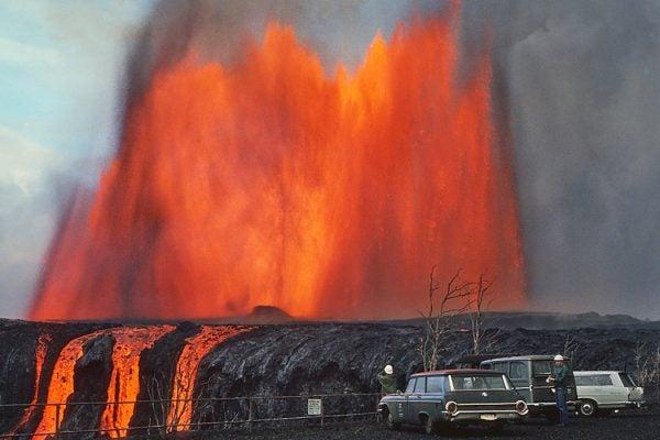 Mauna Ulu lava cone