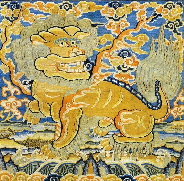 León de la dinastía Ming