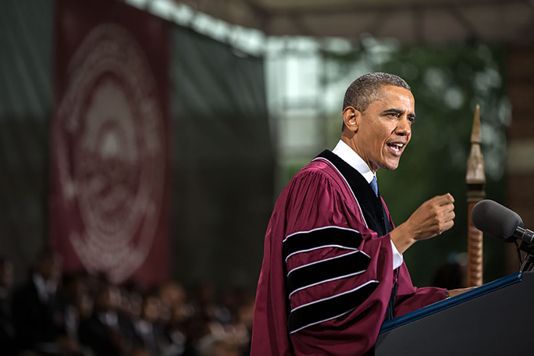 Obama commencement speeches