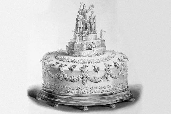 Victoria wedding cake