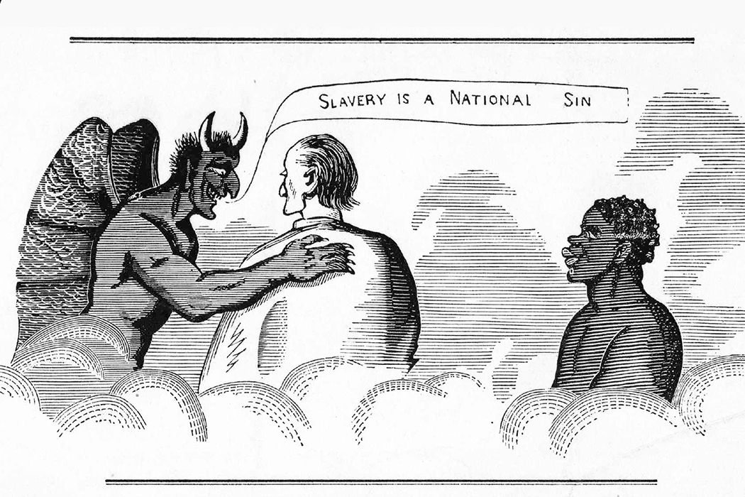 anti-abolitionist cartoon