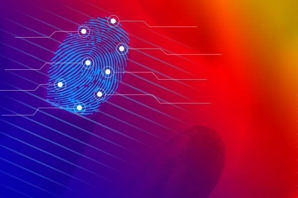 fingerprint crime