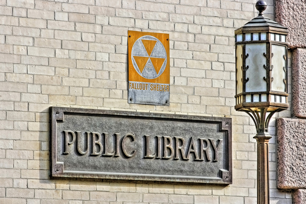 Library fallout shelter