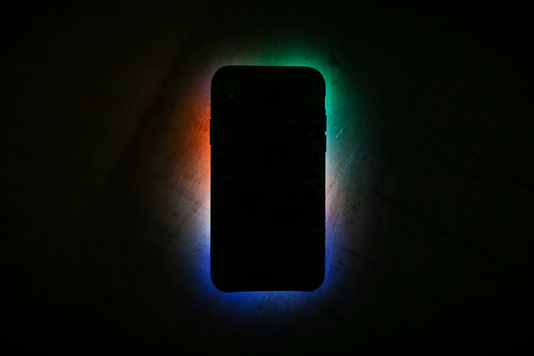 ominous smartphone