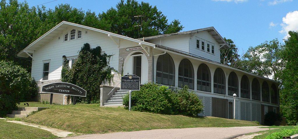 Dr. Susan LaFlesche Picotte Memorial Hospital in Walthill, Nebraska
