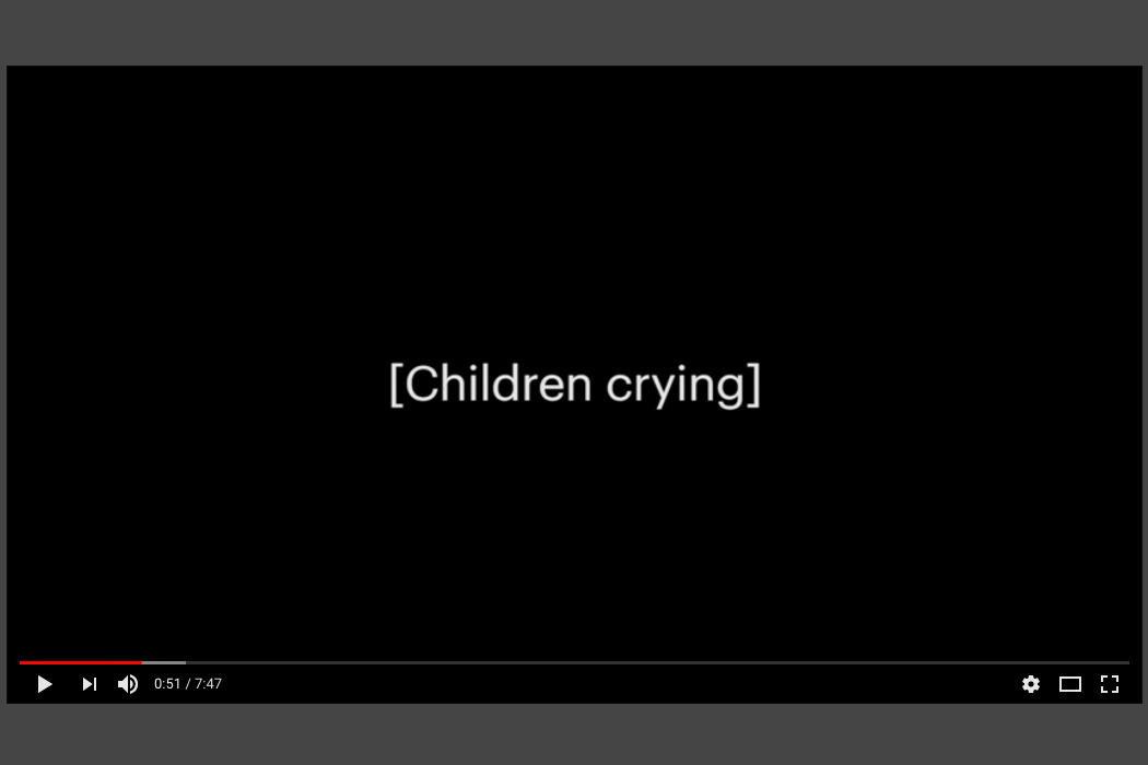 ProPublica child detention center recording
