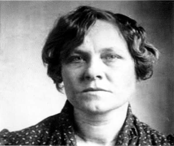 Ruth Snyder mugshot