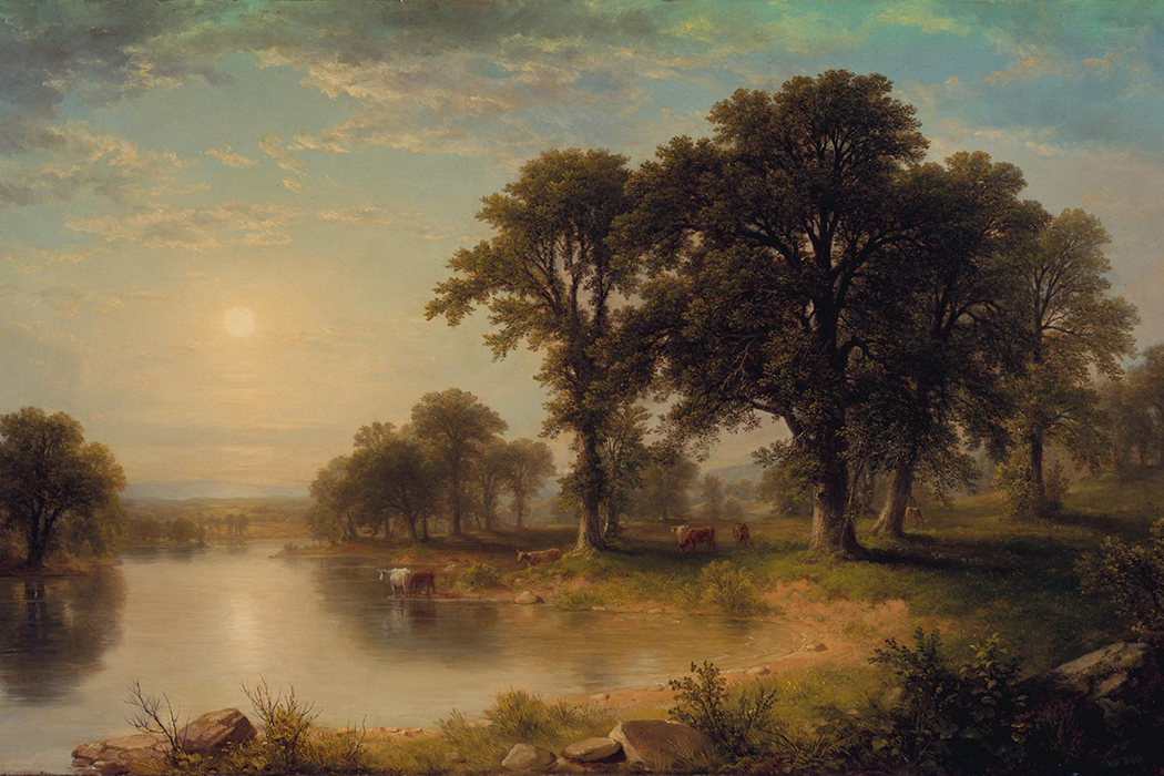 Summer Afternoon Asher Brown Durand