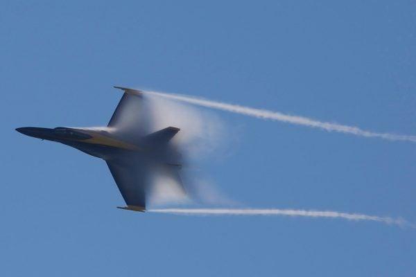 Airplane Breaking Sound Barrier
