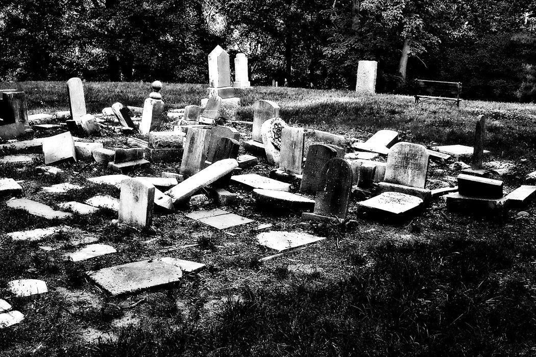 African American graveyard