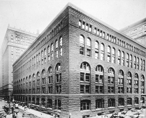 Marshall Fields warehouse 1890 Chicago