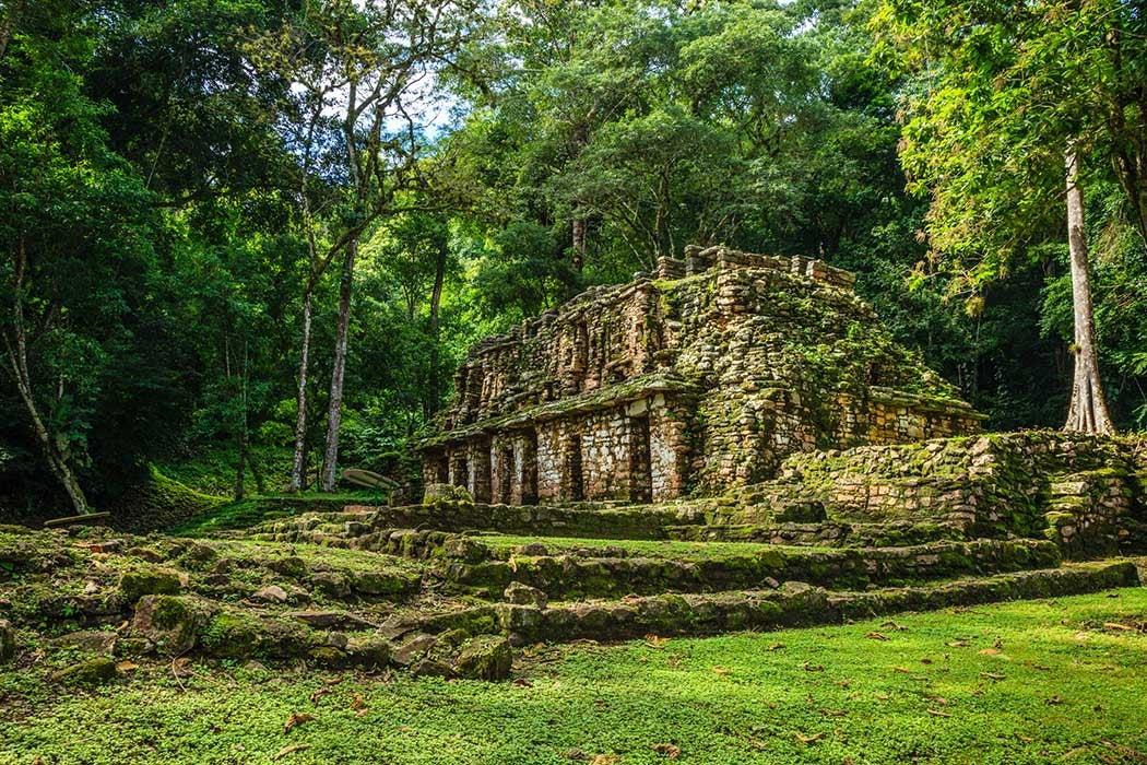 Yaxchilán, Maya ancient city