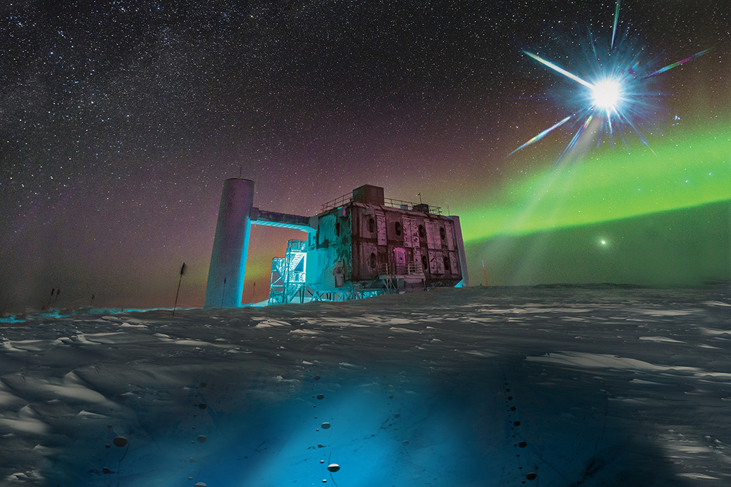 Neutrino Antarctica