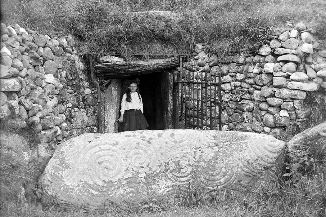 Newgrange ancient tomb Ireland