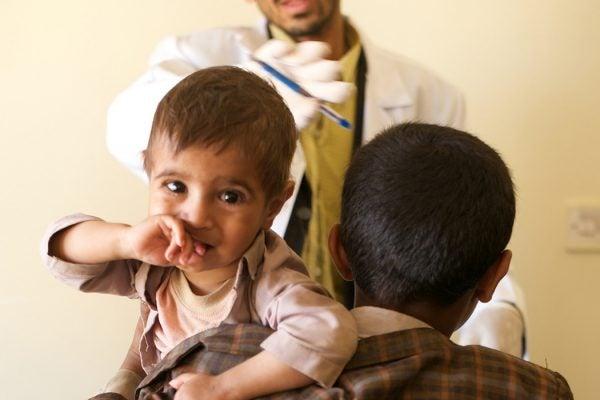 Yemen crisis children