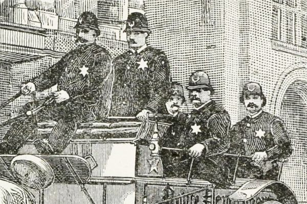1800s Chicago police