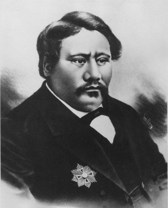 King Kamehameha V,
