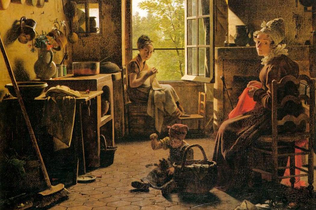 mummy brown painting