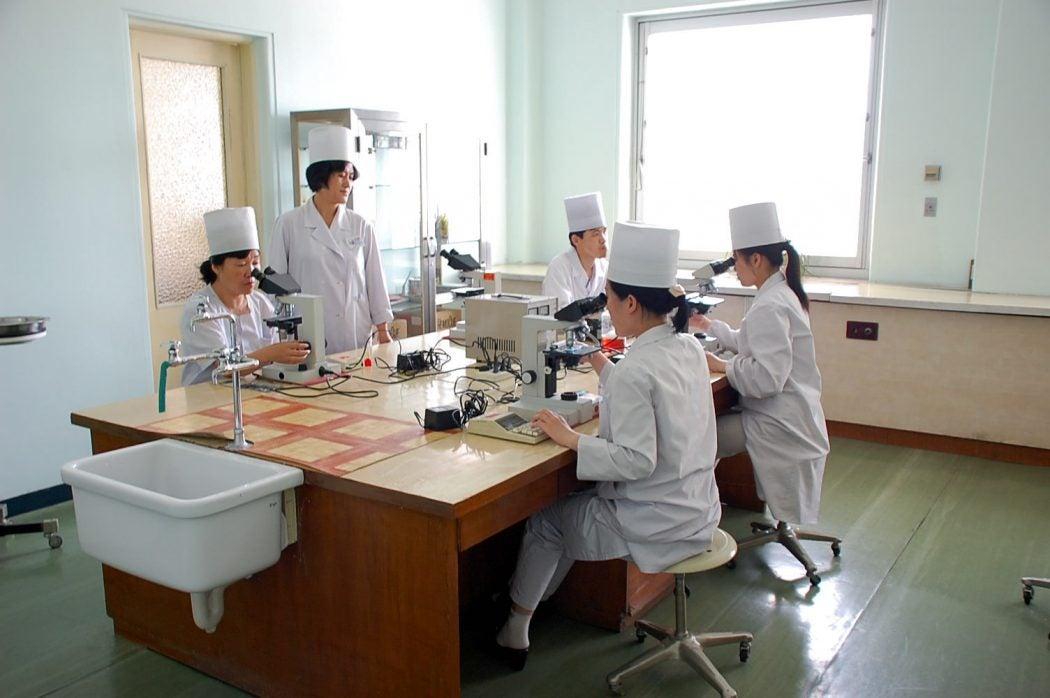 north korea healthcare