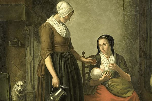 breastfeeding eighteenth century
