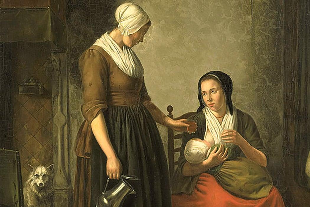 breastfeeding eighteenth century