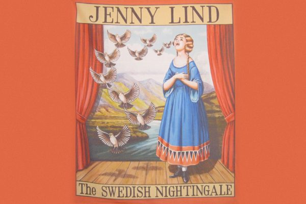 Jenny Lind the Swedish Nightingale. Poster from the collection of the University of Sheffield.