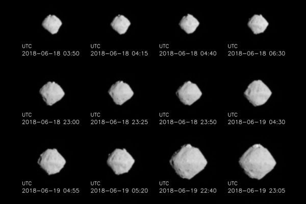 Hayabusa2 Approaches Asteroid Ryugu
