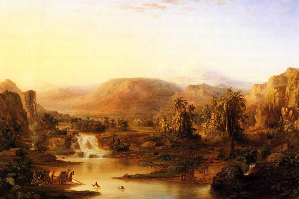 Land of the Lotus Eaters, a painting by Robert S. Duncanson