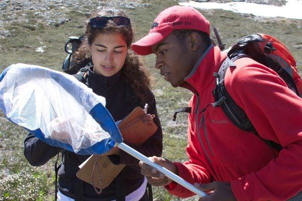 Citizen Scientist volunteers at Mount Rainier National Park.