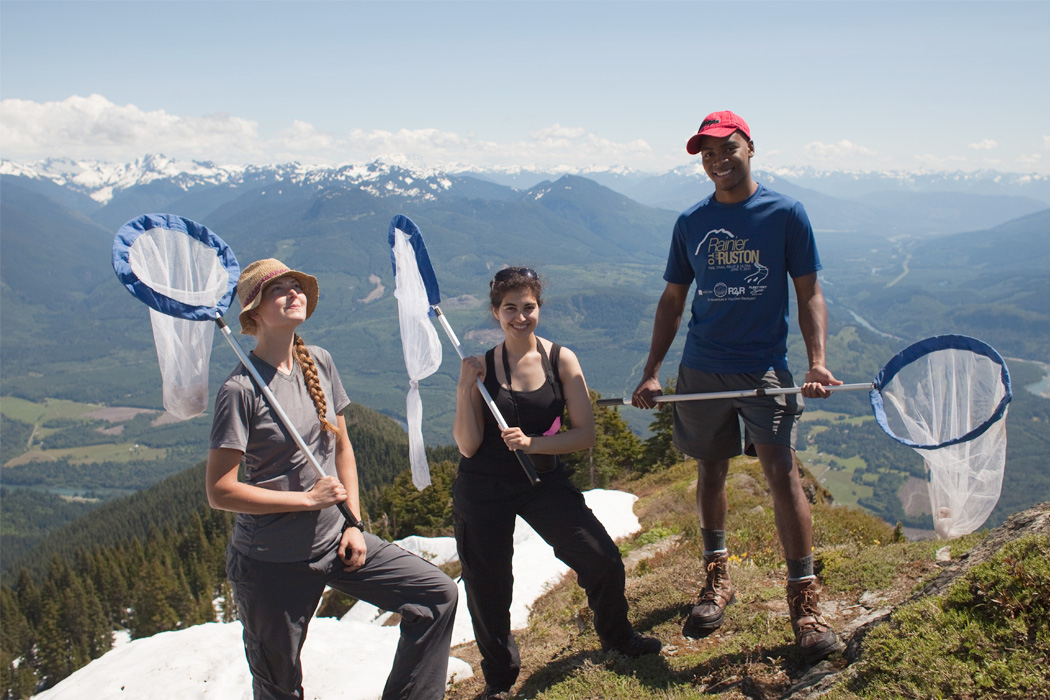 Members of the Cascades Butterfly Citizen Science Team